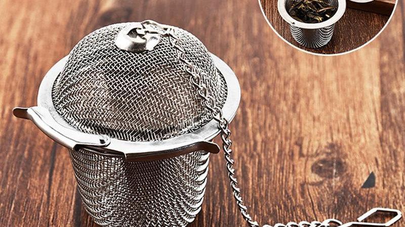 Reusable Stainless Tea Spice Strainer Mesh Herbal