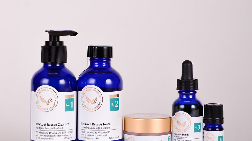 Cystic Acne   Acne/Combination Package