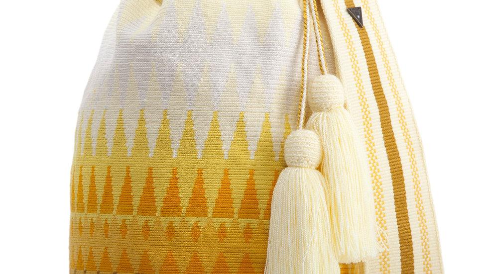 SUSU Reflection Crossbody Mochila Yellow