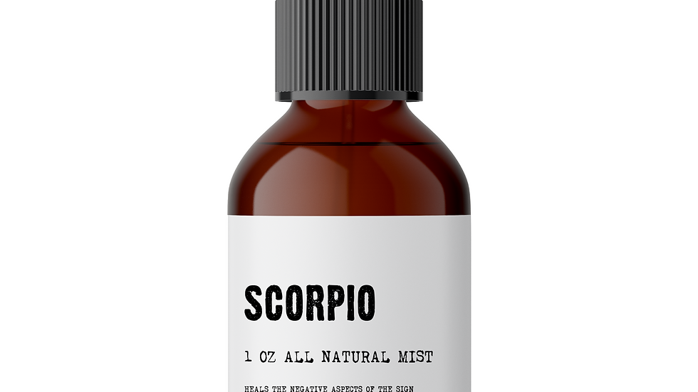 Scorpio Meditation Mist