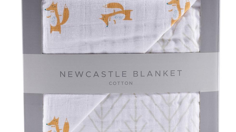 Fancy Fox and Forrest Arrow Newcastle Blanket