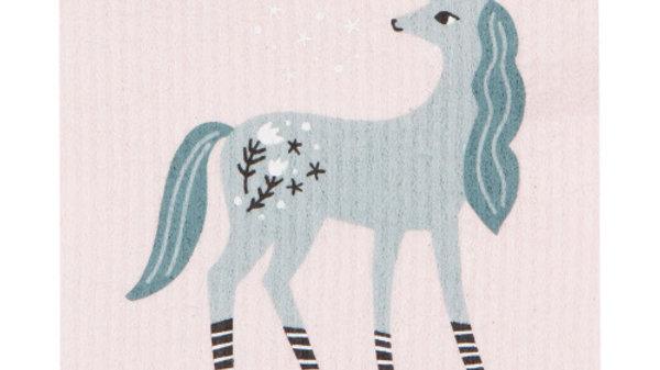 Now Designs Ecologie Swedish Sponge Cloth-Unicorn