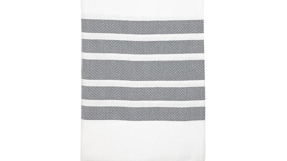 Herringbone Stripe Turkish Towel