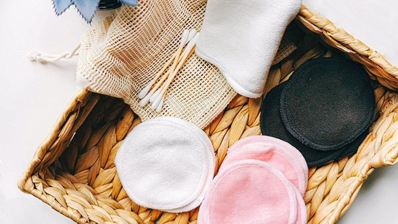 Reusable Cotton Pads Make Up Remover.
