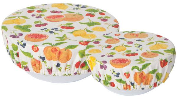 Now Designs-Bowl Cover Set/2 Fruit Salad