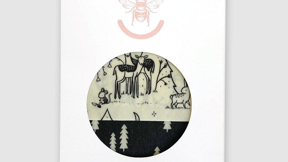 Scandinavian Forest- Set of Two