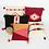 Thumbnail: Native American Pillow Cover, Pink Arrow Pillow