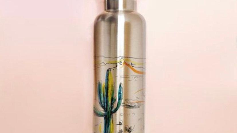 Arizona Desert- Insulated Stainless Steel Water Bottle.