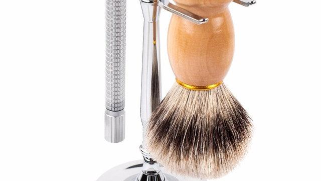 Men Razor Holder Stainless Steel Shaving