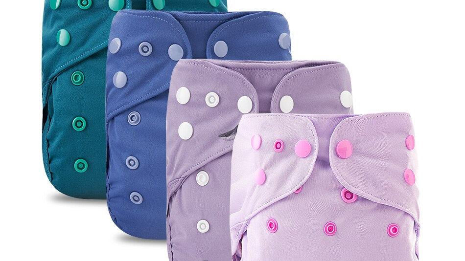 Baby Cloth Diaper Cover. Waterproof, Washable, Reusable Cloth Nappies.
