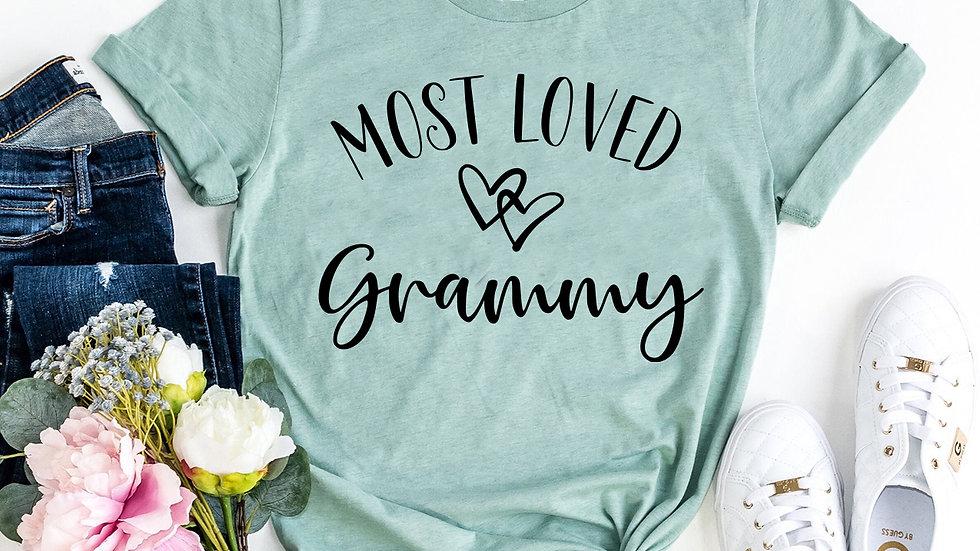 Most Loved Grammy T-shirt
