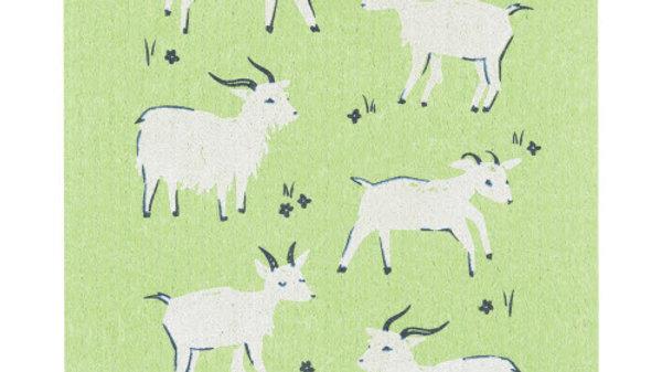 Now Designs Ecologie Swedish Sponge Cloth- Goats