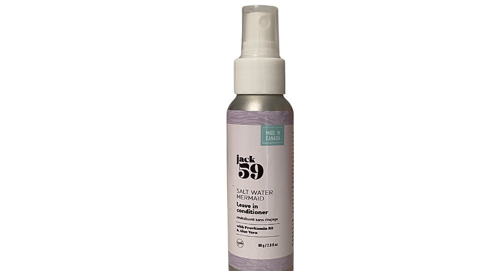 Travel size Leave In Conditioner - Salt Water Mermaid