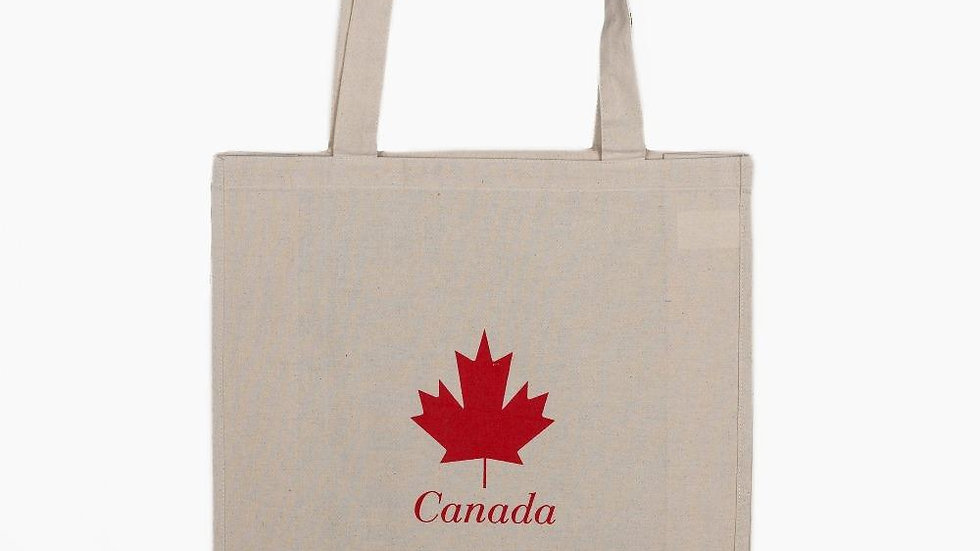 Eco Friendly cotton tote Bags- Maple Leaf