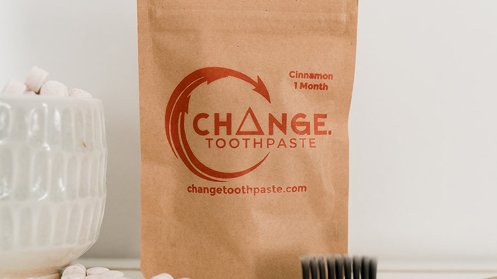 Change Toothpaste Cinnamon