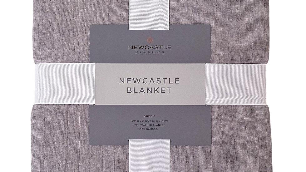 Oversized Queen Bamboo Blanket - Newcastle Grey