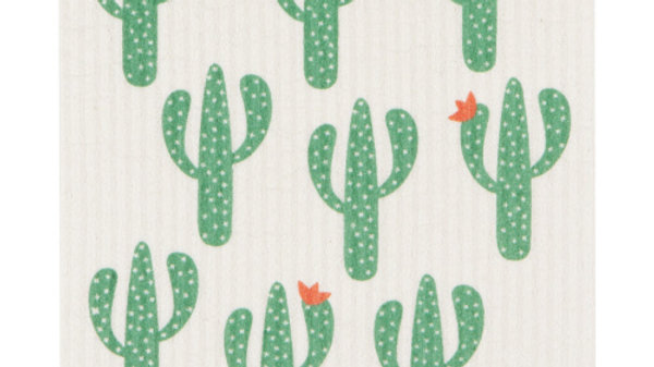 Now Designs Ecologie Swedish Sponge Cloth-Cacti