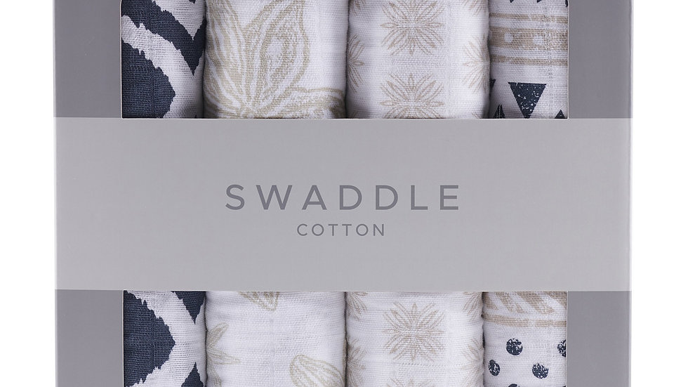 World Wanderer Swaddle Four Pack