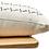 Thumbnail: White Mudcloth Bolster Long Pillow Cover