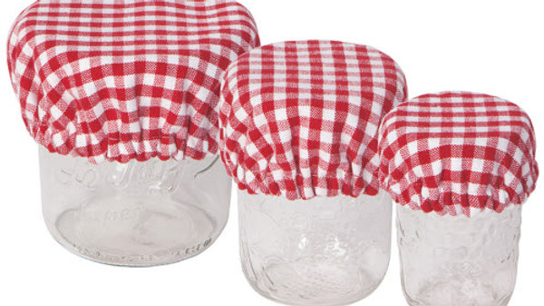 Now Designs-Bowl Cover Mini Set of 3 in Gingham