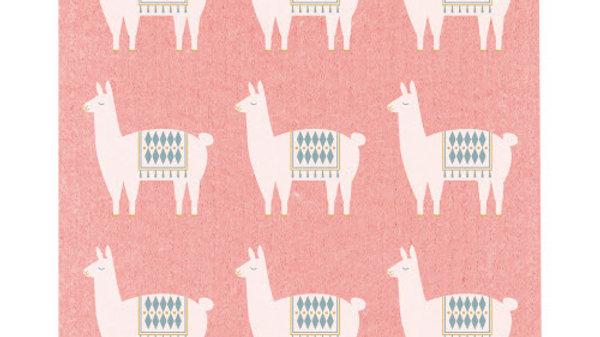 Now Designs Ecologie Swedish Sponge Cloth Lupe Llama