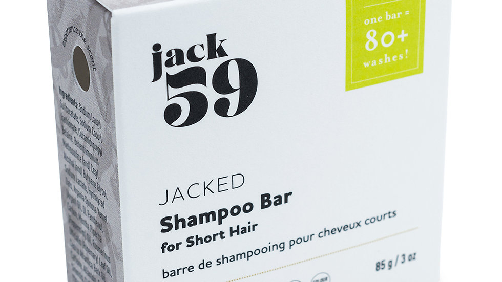 Jacked Shampoo Bar