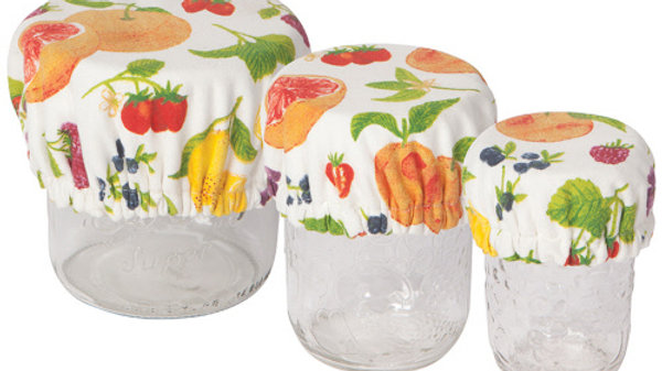 Now Designs -Bowl Cover Mini Set of 3 in Fruit Salad