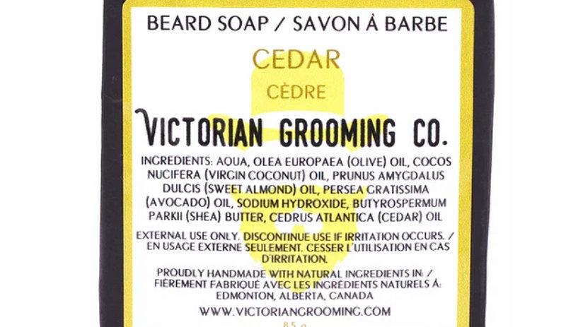 Beard Soap, Cedar.
