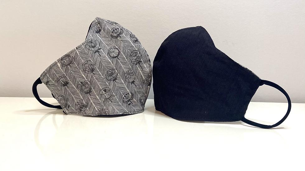 Details or Not- Reversible Cotton & Linen Mask