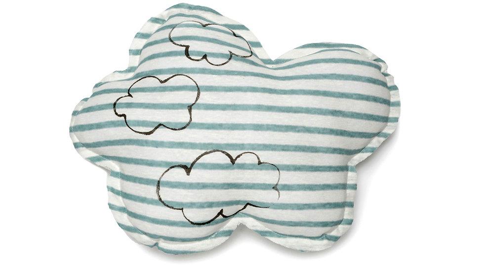 Cloud shaped pillow- Cloud print