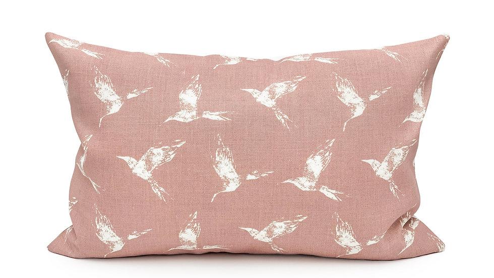 Swallow Birds Pretty Pink Lumbar