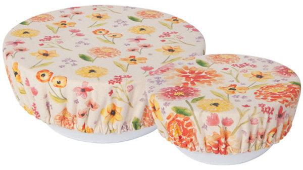 Now Designs-Bowl Cover Set/2 Cottage Floral