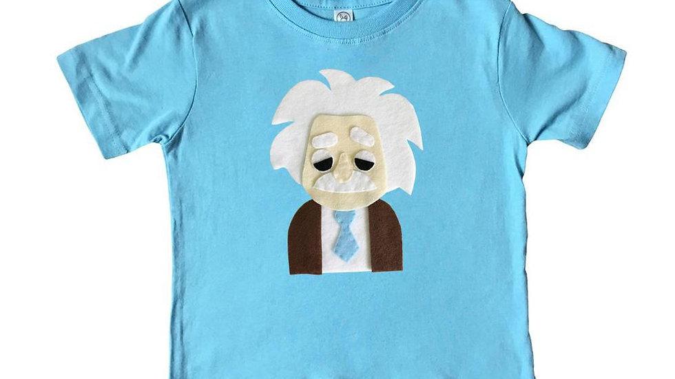 Einstein - Kids Shirt - Blue