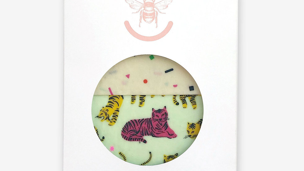 Tigers (Mint)- Set of Two