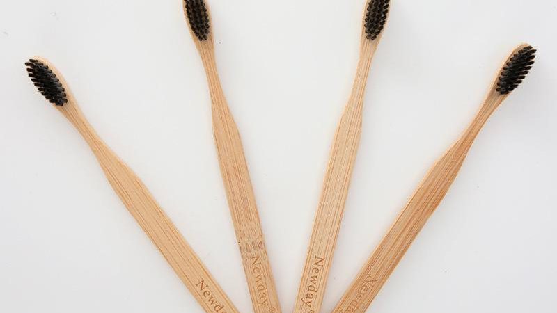 Organic Bamboo Toothbrush (1pc)