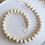 Thumbnail: Nordic Style Kids Room Wall Shelves Double Deck Original Wood Beads