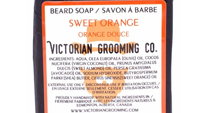 Beard Soap, Sweet Orange.