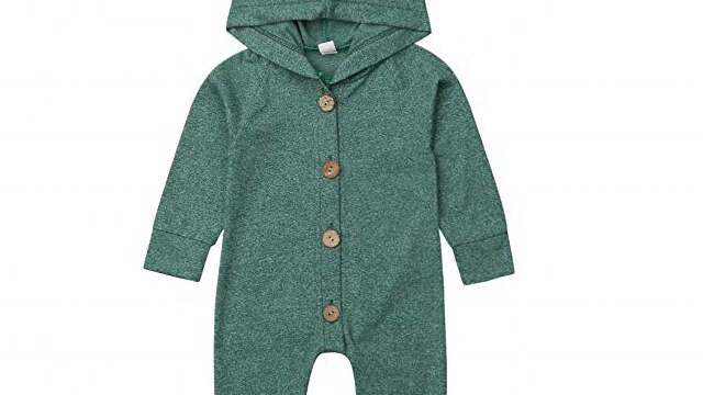 Organic Cotton Baby Knitted Rompers