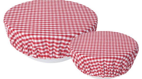 Now Designs -Bowl Cover Set/2 Gingham