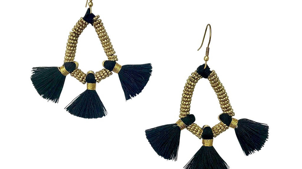 Nira Fringe Earrings