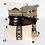 Thumbnail: Native American Pillow Cover, Gray Arrow Pillow