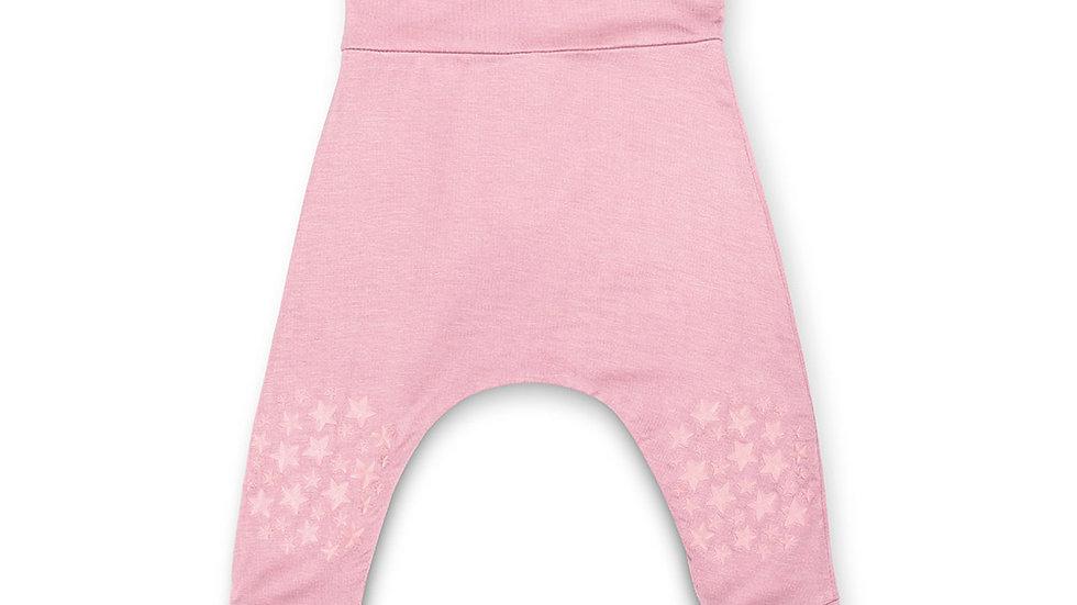 Blush Pink Grip N' Go Harem Pants - Bamboo