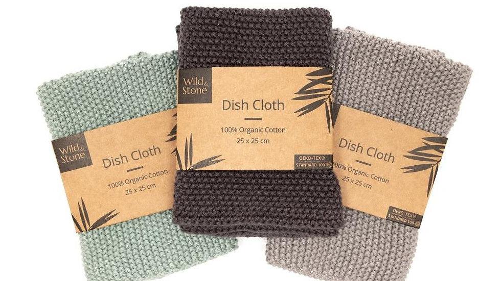 Dish Cloths - 100% Organic Cotton