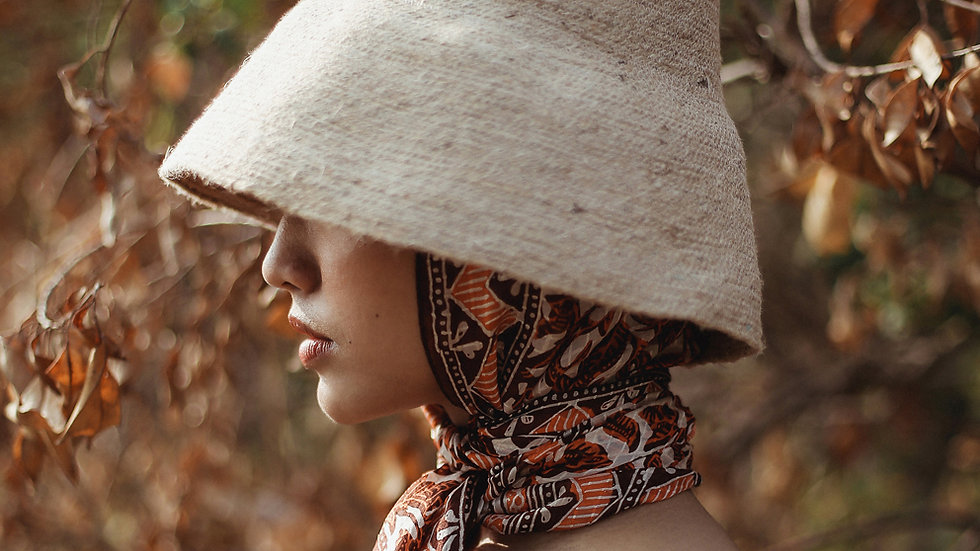 Naomi Jute Bucket Hat