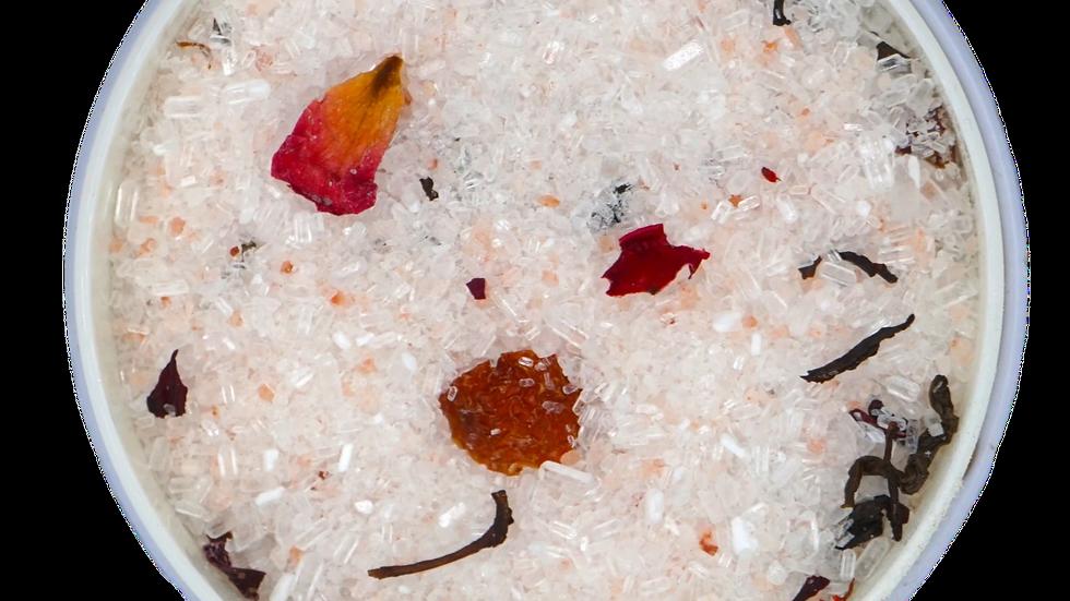 Tangerine Sundowner bath salt