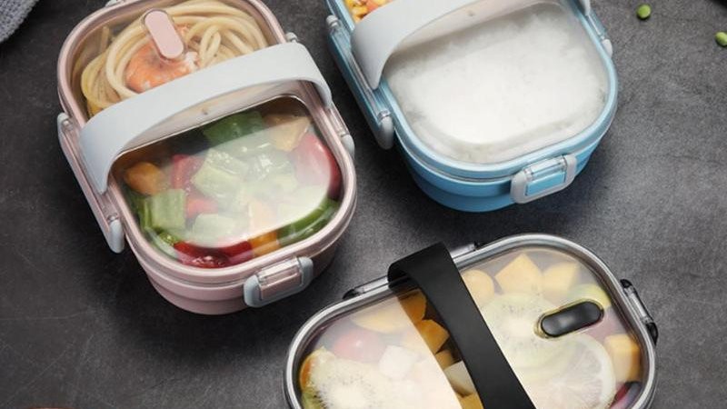 Portable Lunch Box For Kids School 304 Stainless