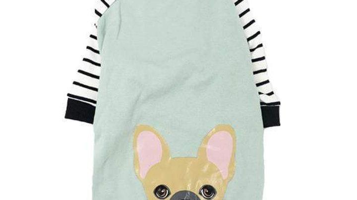 French Bulldog Pajamas | Frenchie Clothing | Fawn Frenchie dog