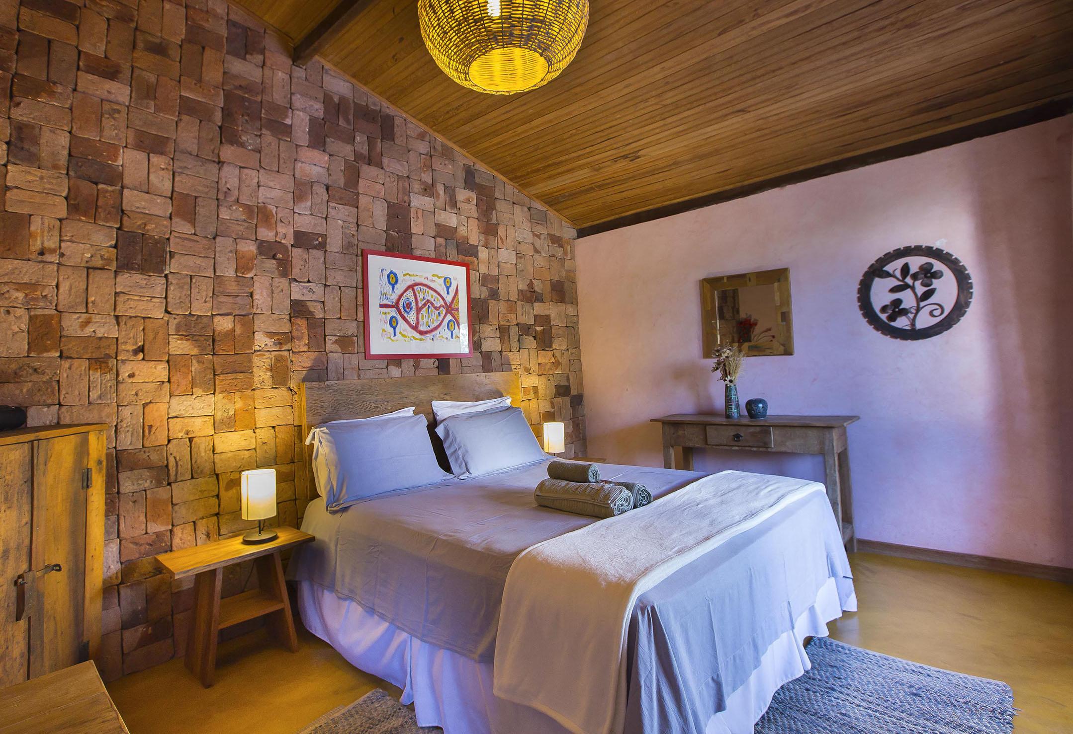 Casa do Teuler - Da Mata Quarto 1 - Lapinha Da Serra MG - Pousada Hotel