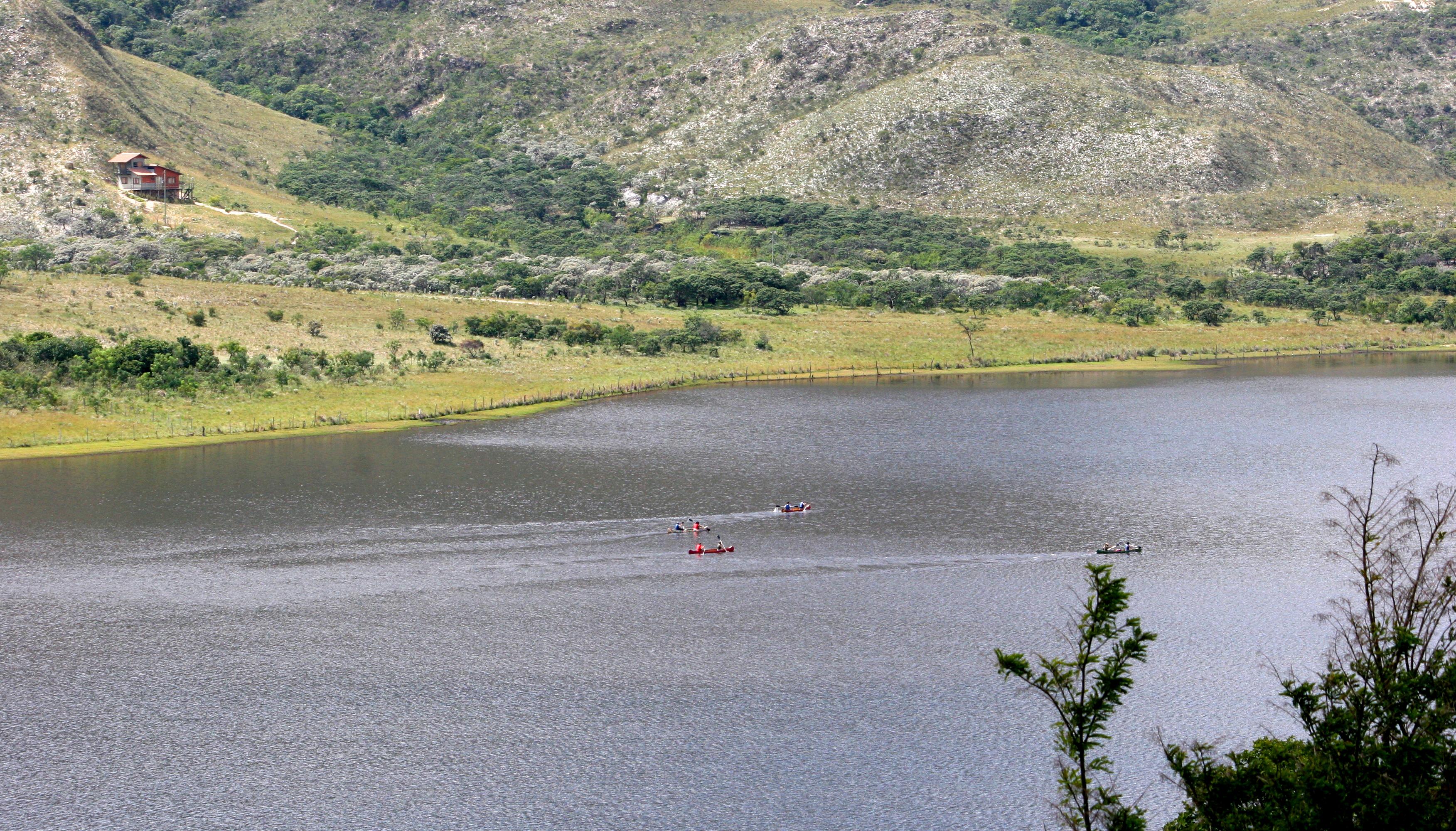 Canoagem - Lapinha da Serra