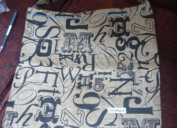 Retail bags- burlap